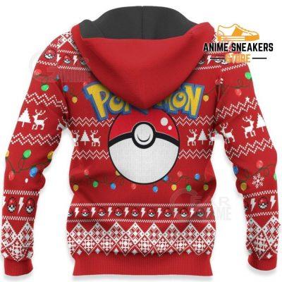 Pikachu Santa Ugly Christmas Sweater Pokemon Anime Xmas Gift All Over Printed Shirts