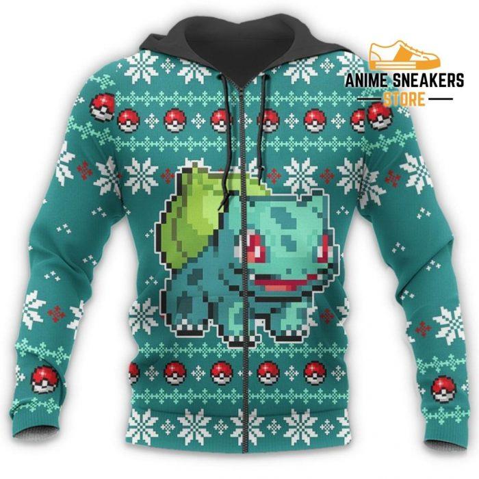 Pokemon Bulbasaur Ugly Christmas Sweater Custom Xmas Gift All Over Printed Shirts