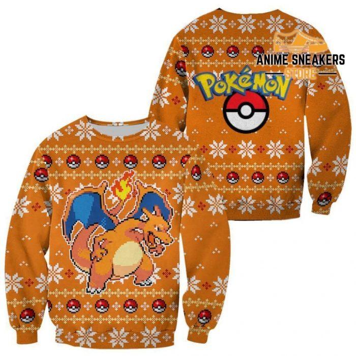 Pokemon Charizard Ugly Christmas Sweater Custom Xmas Gift / S All Over Printed Shirts