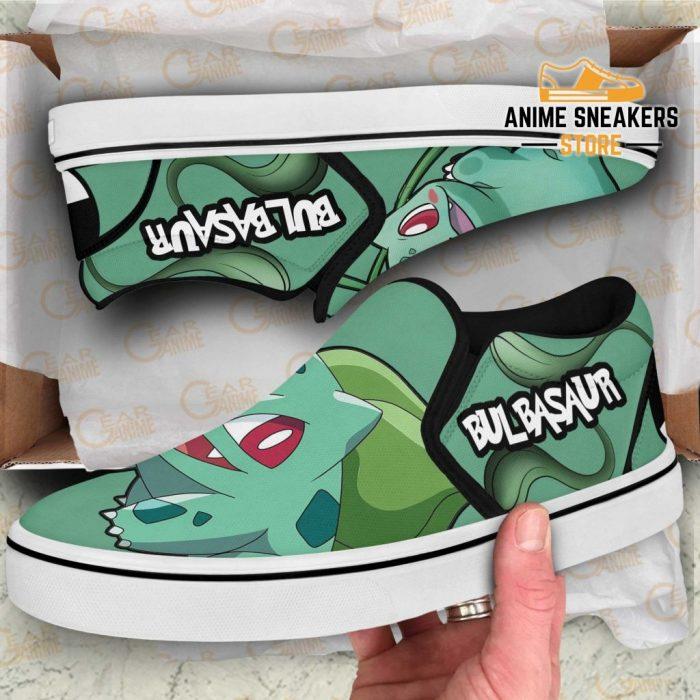 Bulbasaur Slip On Shoes Pokemon Custom Anime Slip-On