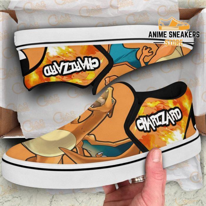 Charizard Slip On Shoes Pokemon Custom Anime Slip-On