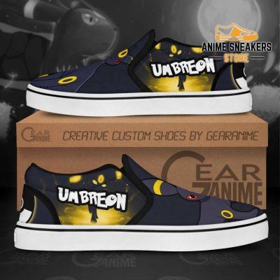 Umbreon Slip On Shoes Pokemon Custom Anime Slip-On
