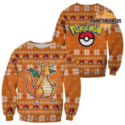 Pokemon Dragonite Ugly Christmas Sweater Custom Xmas Gift / S All Over Printed Shirts