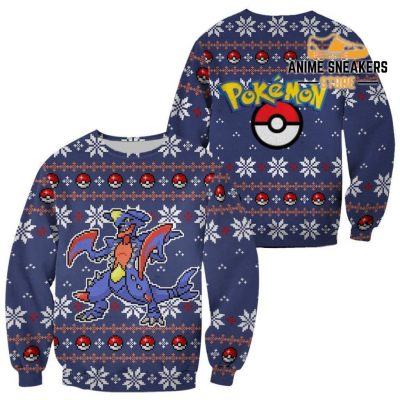 Pokemon Garchomp Ugly Christmas Sweater Custom Xmas Gift / S All Over Printed Shirts