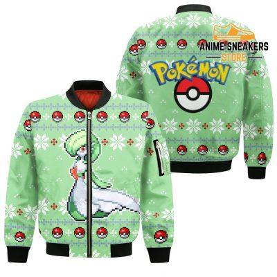 Pokemon Gardevoir Ugly Christmas Sweater Custom Xmas Gift Bomber Jacket / S All Over Printed Shirts