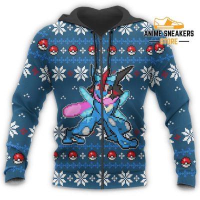 Pokemon Greninja Ugly Christmas Sweater Custom Xmas Gift All Over Printed Shirts