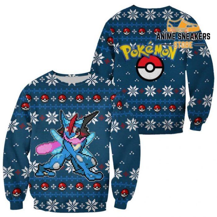Pokemon Greninja Ugly Christmas Sweater Custom Xmas Gift / S All Over Printed Shirts