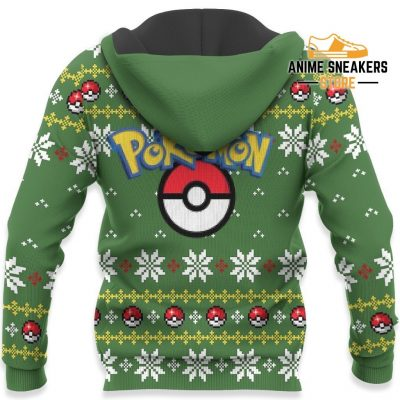 Pokemon Rayquaza Ugly Christmas Sweater Custom Xmas Gift All Over Printed Shirts