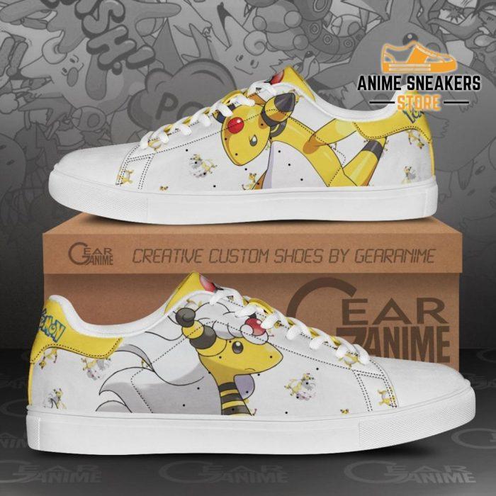 Ampharos Skate Shoes Pokemon Custom Anime Pn11 Men / Us6