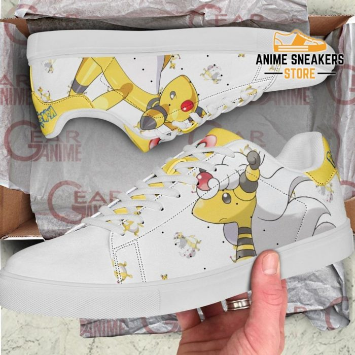 Ampharos Skate Shoes Pokemon Custom Anime Pn11