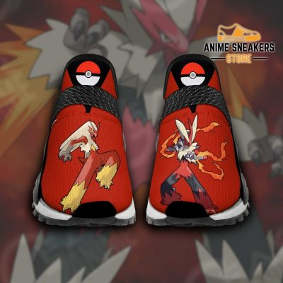 Blaziken Shoes Pokemon Custom Anime Tt11 Men / Us6 Nmd