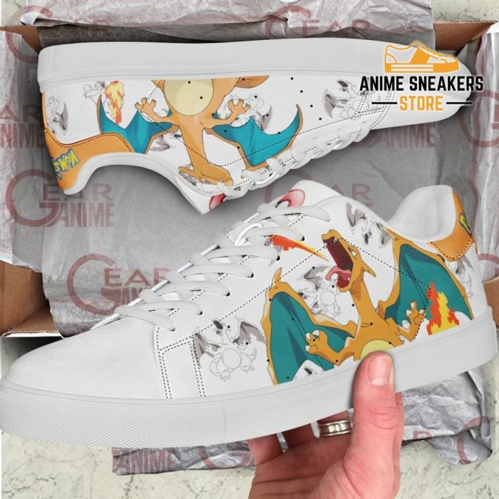 Charizard Skate Shoes Pokemon Custom Anime Pn11