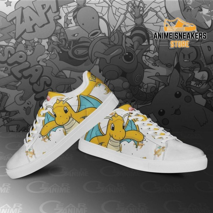 Dragonite Skate Shoes Pokemon Custom Anime Pn11