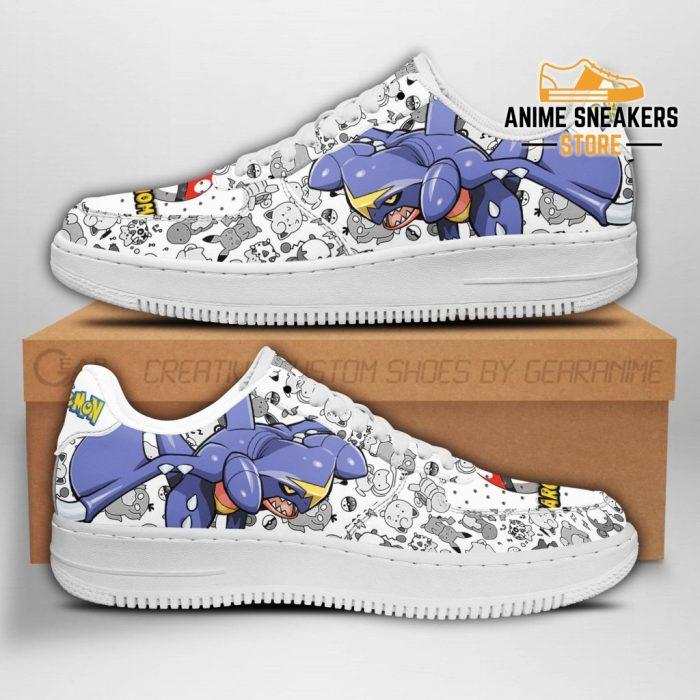 Garchomp Sneakers Pokemon Shoes Fan Gift Idea Pt04 Men / Us6.5 Air Force