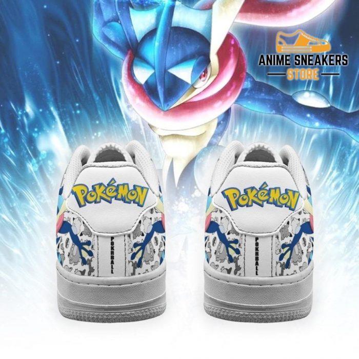 Greninja Sneakers Pokemon Shoes Fan Gift Idea Pt06 Air Force