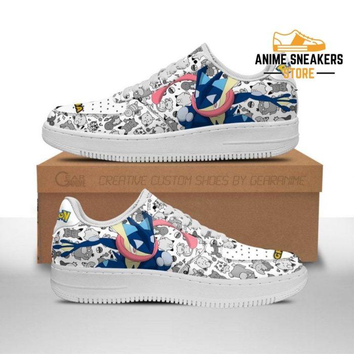 Greninja Sneakers Pokemon Shoes Fan Gift Idea Pt06 Men / Us6.5 Air Force