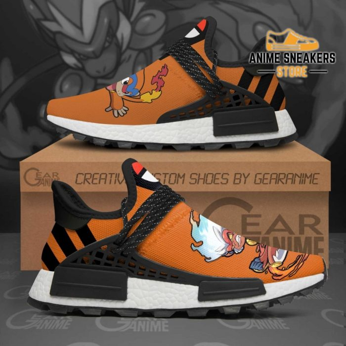 Infernape Shoes Pokemon Custom Anime Tt11 Nmd