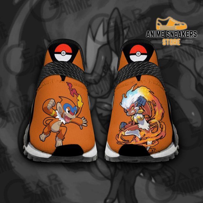 Infernape Shoes Pokemon Custom Anime Tt11 Men / Us6 Nmd