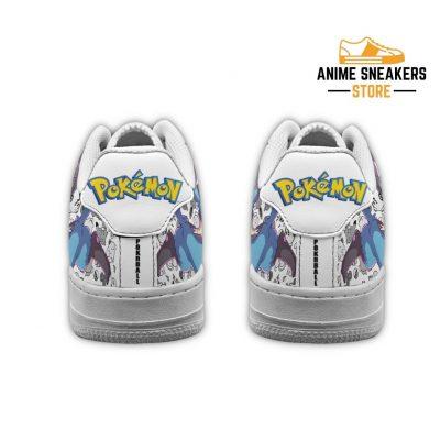 Lucario Sneakers Pokemon Shoes Fan Gift Idea Pt04 Air Force