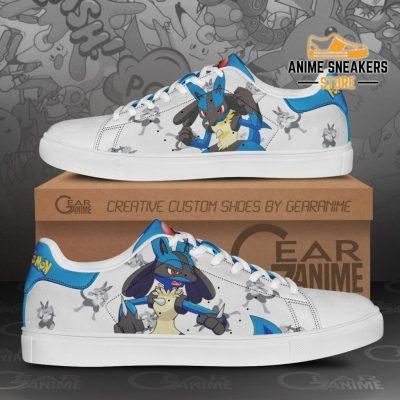 Lucario Skate Shoes Pokemon Custom Anime Pn11 Men / Us6