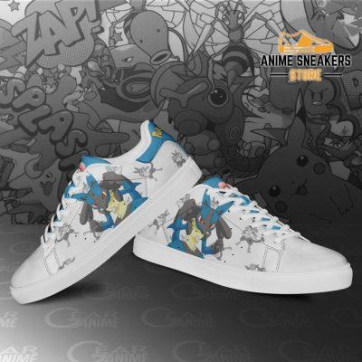 Lucario Skate Shoes Pokemon Custom Anime Pn11