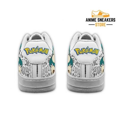 Snorlax Sneakers Pokemon Shoes Fan Gift Pt04 Air Force