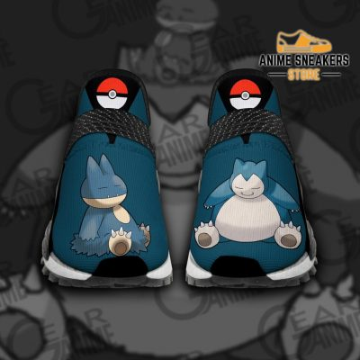 Snorlax Shoes Pokemon Custom Anime Tt11 Men / Us6 Nmd