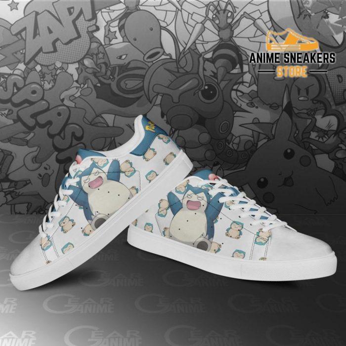 Snorlax Skate Shoes Pokemon Custom Anime Pn11