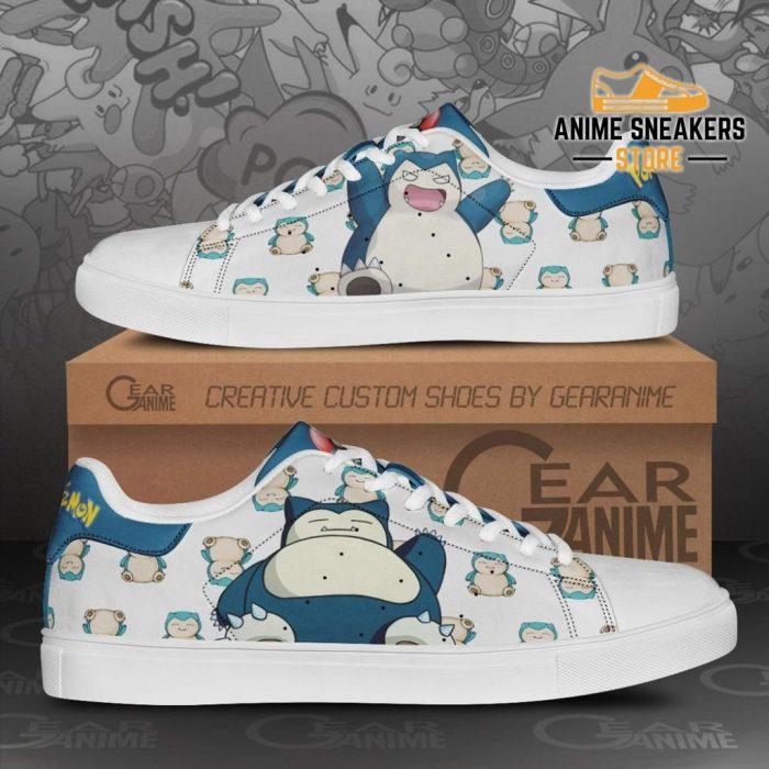 Snorlax Skate Shoes Pokemon Custom Anime Pn11 Men / Us6