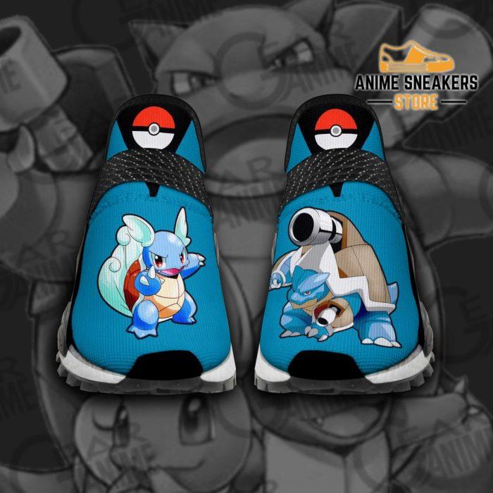 Squirtle Shoes Pokemon Custom Anime Tt11 Men / Us6 Nmd