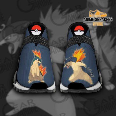 Typhlosion Shoes Pokemon Custom Anime Tt11 Men / Us6 Nmd