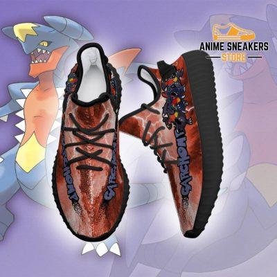Garchomp Yeezy Shoes Pokemon Anime Sneakers Fan Gift Idea Tt04