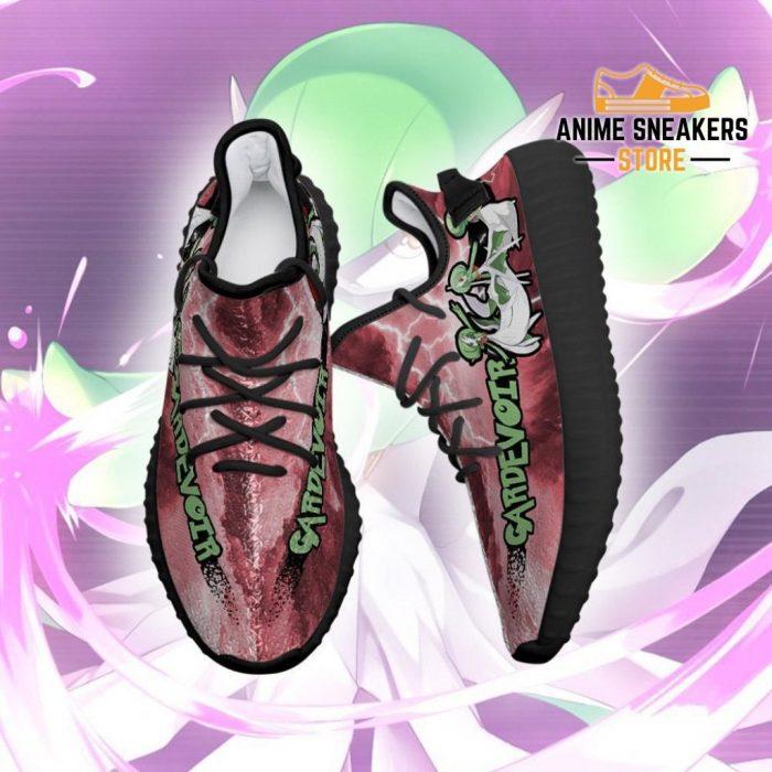 Gardevoir Yeezy Shoes Pokemon Anime Sneakers Fan Gift Idea Tt04