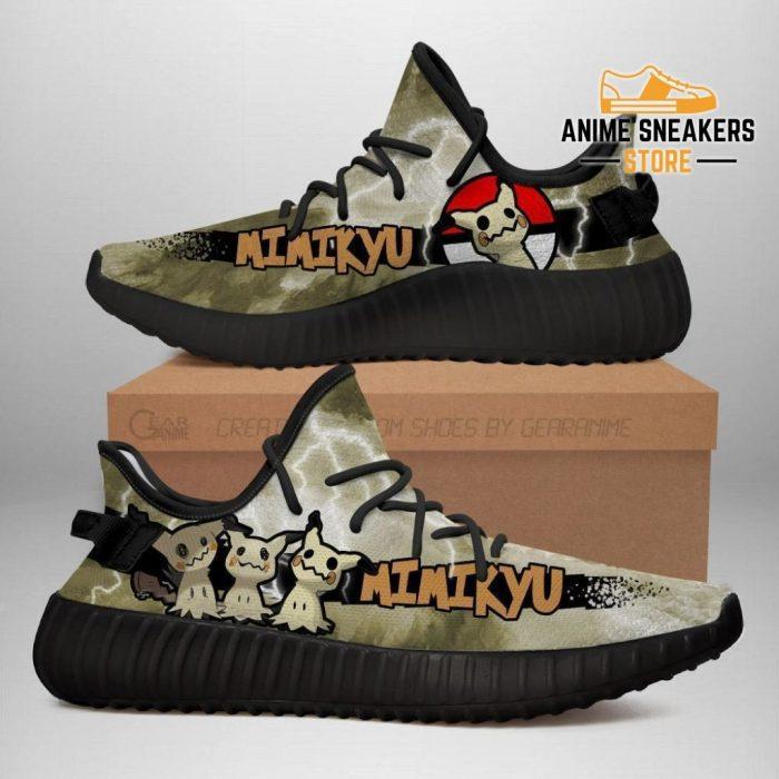 Mimikyu Yeezy Shoes Pokemon Anime Sneakers Fan Gift Idea Tt04 Men / Us6