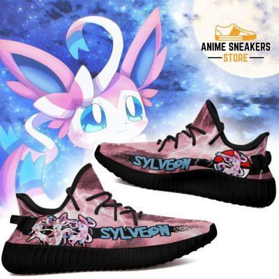 Sylveon Yeezy Shoes Pokemon Anime Sneakers Fan Gift Idea Tt04