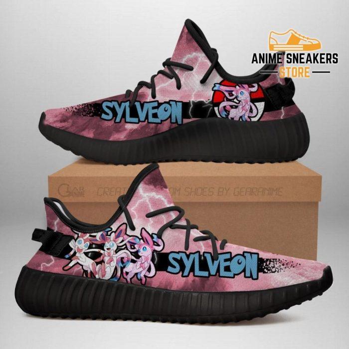 Sylveon Yeezy Shoes Pokemon Anime Sneakers Fan Gift Idea Tt04 Men / Us6
