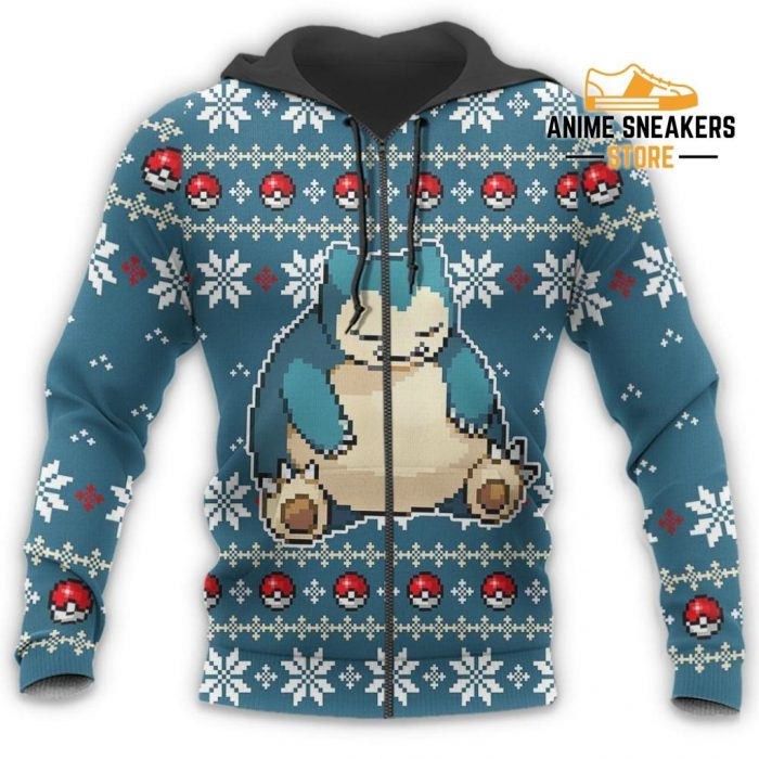 Pokemon Snorlax Ugly Christmas Sweater Custom Xmas Gift All Over Printed Shirts