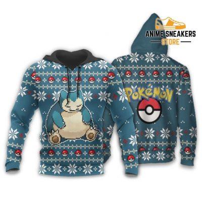Pokemon Snorlax Ugly Christmas Sweater Custom Xmas Gift Hoodie / S All Over Printed Shirts