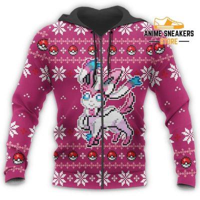 Pokemon Sylveon Ugly Christmas Sweater Custom Xmas Gift All Over Printed Shirts