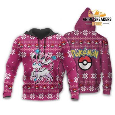 Pokemon Sylveon Ugly Christmas Sweater Custom Xmas Gift Hoodie / S All Over Printed Shirts