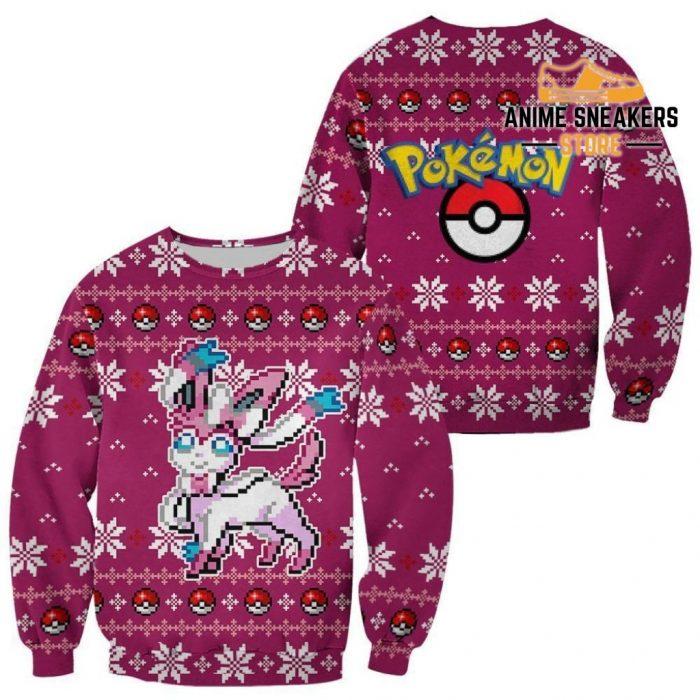 Pokemon Sylveon Ugly Christmas Sweater Custom Xmas Gift / S All Over Printed Shirts
