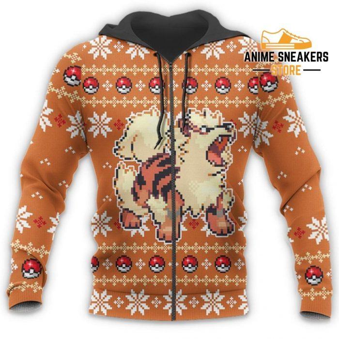 Pokemon Ugly Christmas Sweater Custom Arcanine Xmas Gift All Over Printed Shirts