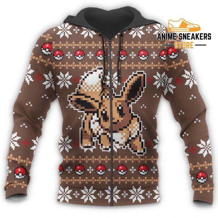 Pokemon Ugly Christmas Sweater Custom Eevee Xmas Gift All Over Printed Shirts