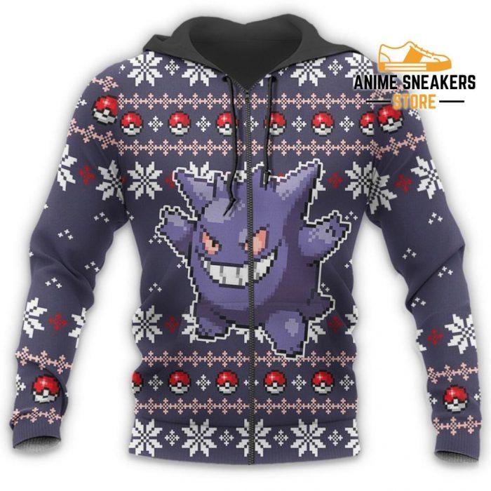 Pokemon Ugly Christmas Sweater Custom Gengar Xmas Gift All Over Printed Shirts