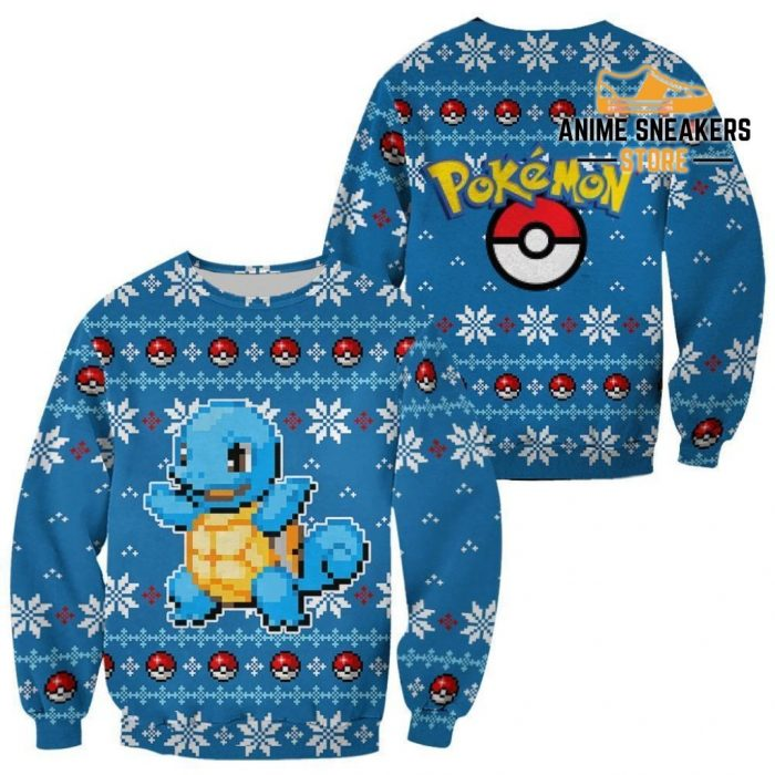 Pokemon Ugly Christmas Sweater Custom Squirtle Xmas Gift / S All Over Printed Shirts