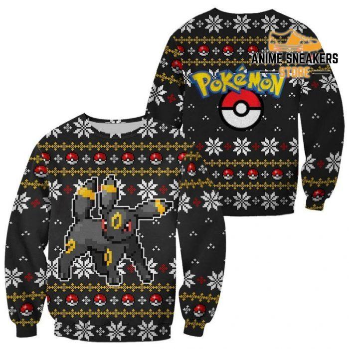 Pokemon Umbreon Ugly Christmas Sweater Custom Xmas Gift / S All Over Printed Shirts