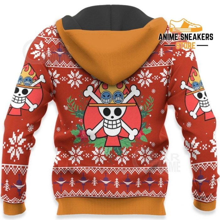 Portgas Ace Ugly Christmas Sweater One Piece Anime Xmas Gift Va10 All Over Printed Shirts