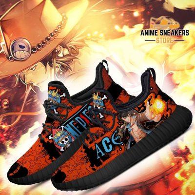 Portgas D. Ace Reze Shoes One Piece Anime Fan Gift Idea Tt04