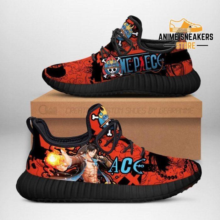 Portgas D. Ace Reze Shoes One Piece Anime Fan Gift Idea Tt04 Men / Us6
