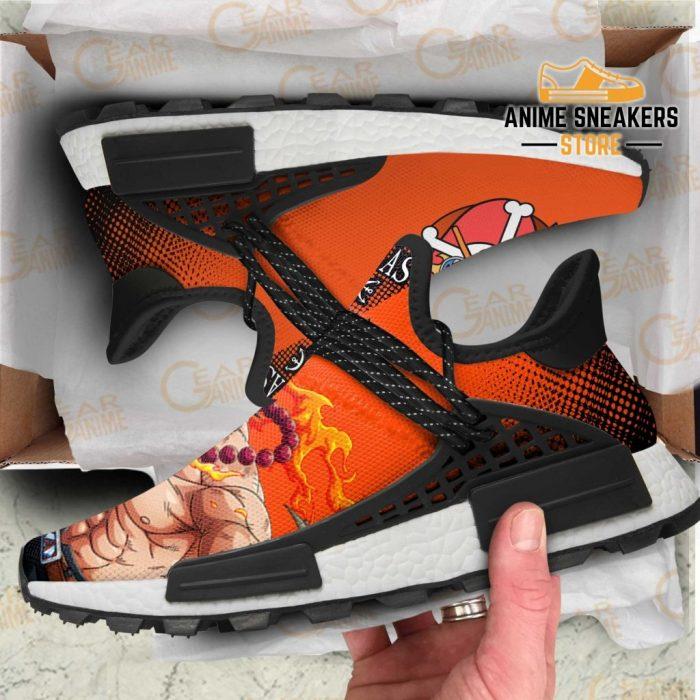Portgas D Ace Shoes Fire Fist One Piece Custom Anime Tt11 Nmd